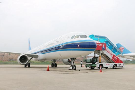 南航首架南沙自贸区保税租赁飞机正式交付