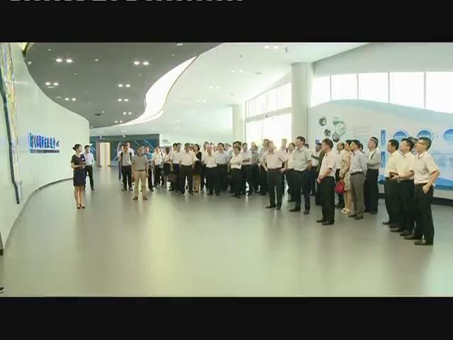 广州市属国企考察南沙
