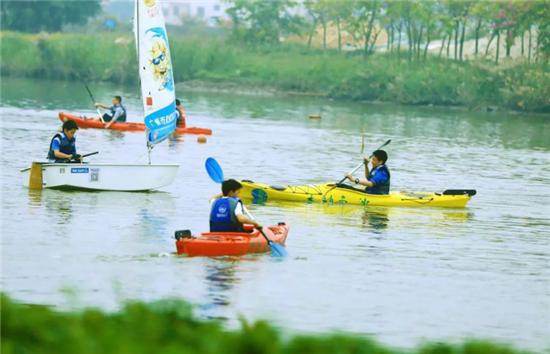 2018省阳光体育水上运动在南沙启动
