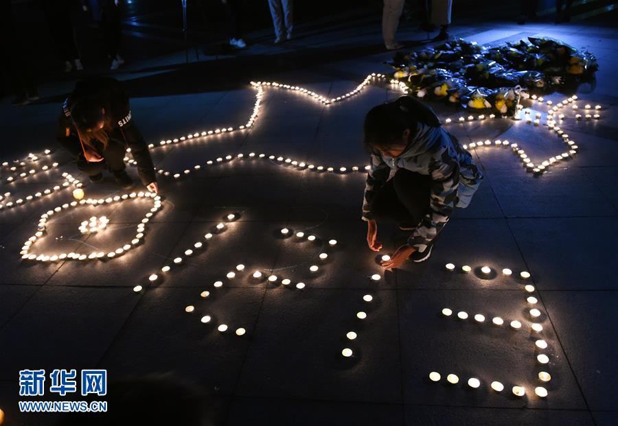 国家公祭日|南京:大学校园烛光寄哀思
