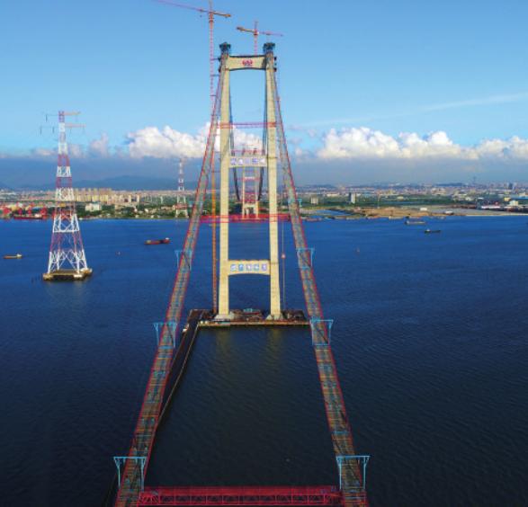 南沙大桥工程亮点...