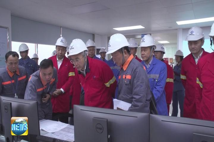 蔡朝林带队开展安全生产专项督导检查