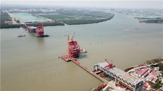 明珠湾大桥建设复...